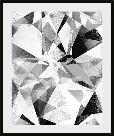 Places of Style Bild »Abstrakte Kunst«, mit Rahmen