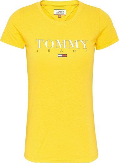 TOMMY JEANS T-Shirt »TJW ESSENTIAL SLIM LOGO TEE« mit Tommy Jeans Logo-Print