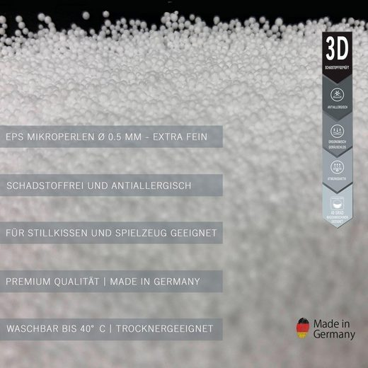 SEI Design Stillkissen »Füllung: EPS-Mikroperlen«, 1-tlg.