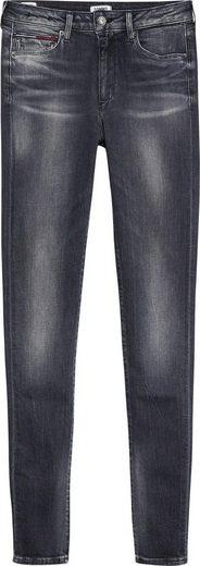 TOMMY JEANS Skinny-fit-Jeans »TJ 2008 HIGH RISE SUPER SKINNY« mit Fade-Effekten
