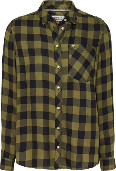 Tommy Hilfiger Bluse »ESSENTIAL OXFORD SHIRT LS« | OTTO