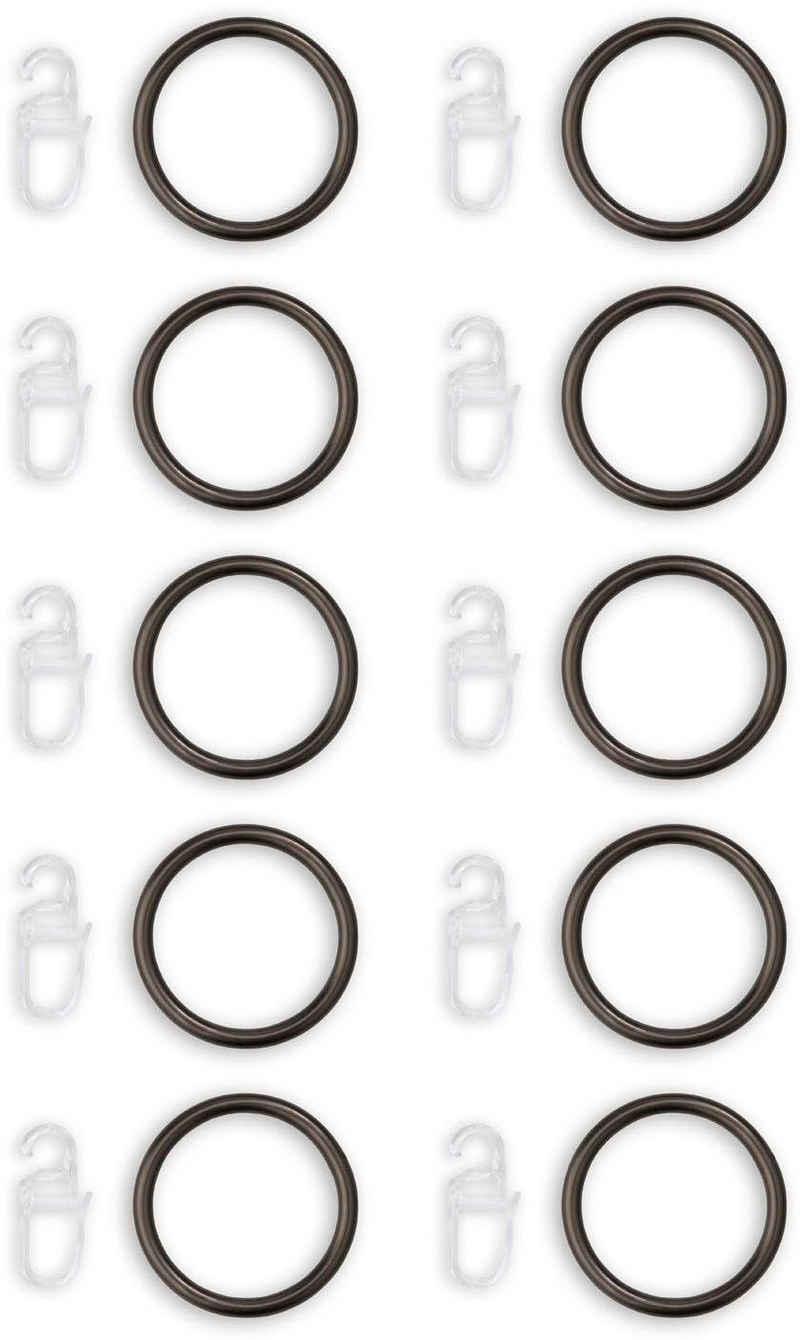 Gardinenring »ArtusNaos«, Good Life, Gardinen, Gardinenstangen, Vorhänge, Dekoschals, Seitenschals, (10-St), Gardinen-Ringe für 25mm Stange
