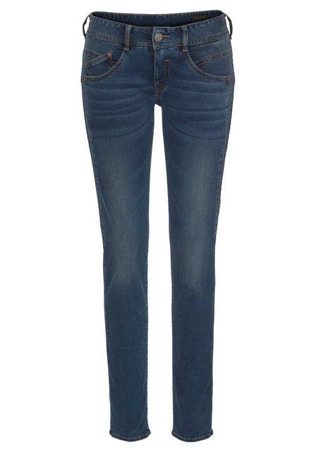 Herrlicher Röhrenjeans »GILA SLIM« mit Thermo-Effekt | Bekleidung > Jeans > Röhrenjeans | Herrlicher