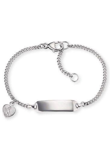 Herzengel Silberarmband »Angeli Herz, HEB-ID-ANGELI-HEART«