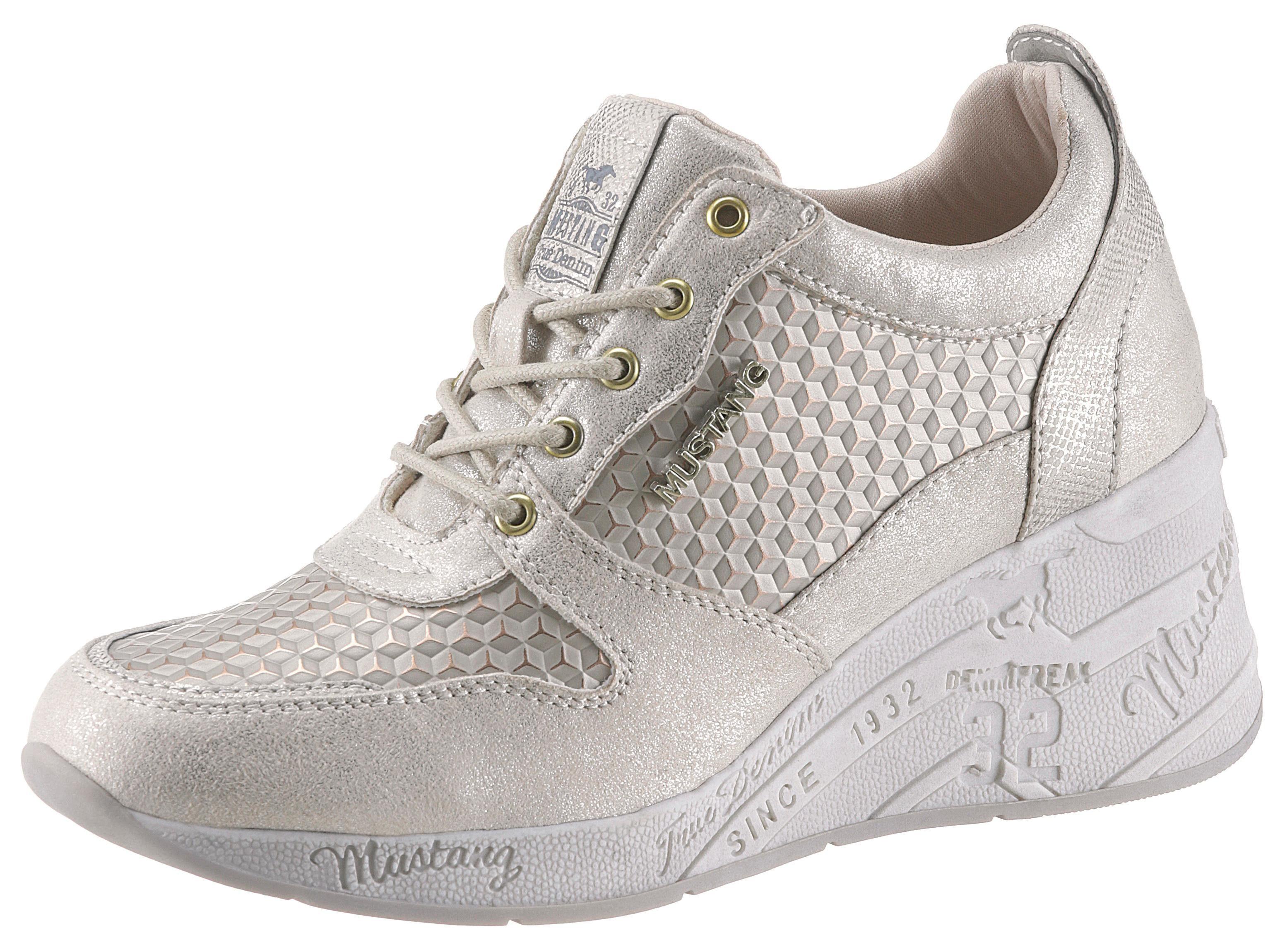 Rieker Sneaker in sportiver Optik, Mit weich gepolstertem Schaftrand online kaufen | OTTO