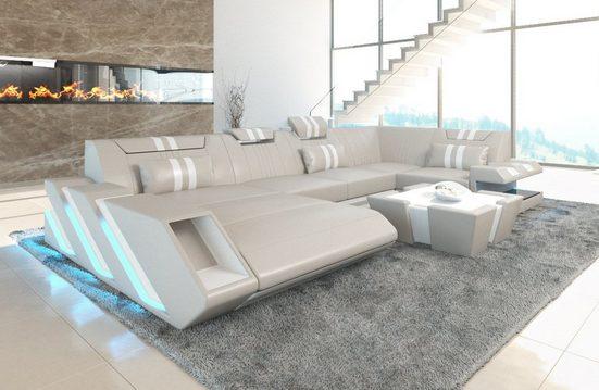 Sofa Dreams Wohnlandschaft »Apollonia«, U Form