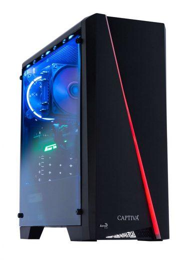 CAPTIVA G15AG 19V1 Gaming-PC (AMD Ryzen 5, RTX 2080, 16 GB RAM, 1000 GB HDD, 240 GB SSD, Luftkühlung)