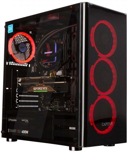CAPTIVA Highend Gaming R50-860 Gaming-PC (AMD Ryzen 7, RTX 2070 SUPER, 16 GB RAM, 500 GB + 1 TB GB SSD, Wasserkühlung)