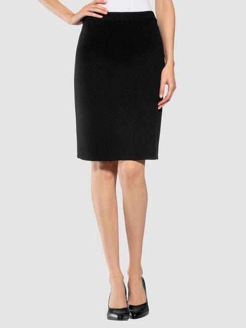 Alba Moda Strickrock aus formstabilem Feinstrick | Bekleidung > Röcke > Strickröcke | Alba Moda