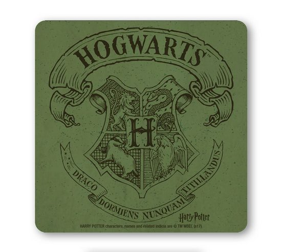 LOGOSHIRT Untersetzer mit Harry Potter-Wappen