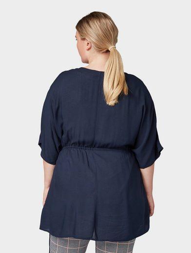 TOM TAILOR MY TRUE ME Shirtbluse »Kimono mit Tunnelzug«