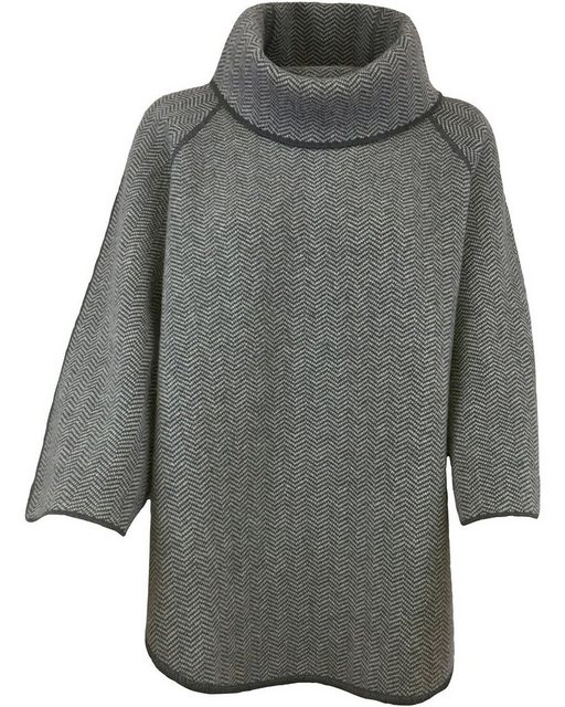 Georg Maier Fischgrat-Poncho Polly | Bekleidung > Pullover > Ponchos & Capes | georg maier
