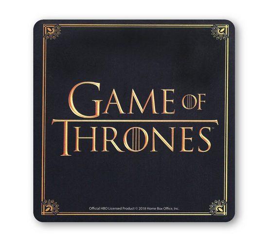LOGOSHIRT Untersetzer mit Game of Thrones-Motiv