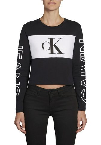 Calvin KLEIN джинсы кофта с длинными р...