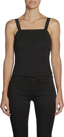 Calvin Klein Jeans Tanktop »MILANO LOGO STRAP CAMISOLE« aus schwerer Jerseyqualität mit Calvin Klein Logo-Straps