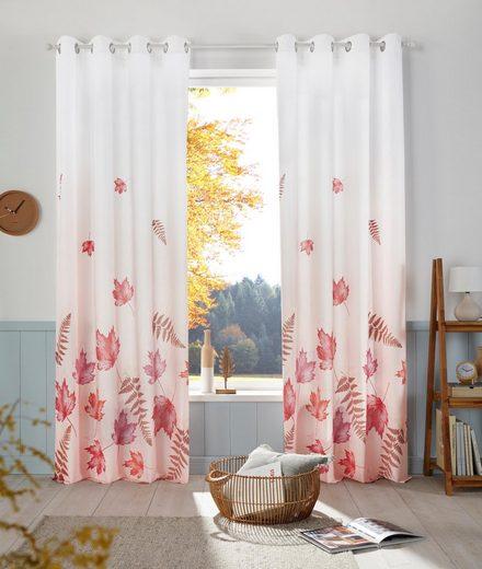 Vorhang »Farn«, my home, Ösen (1 Stück)