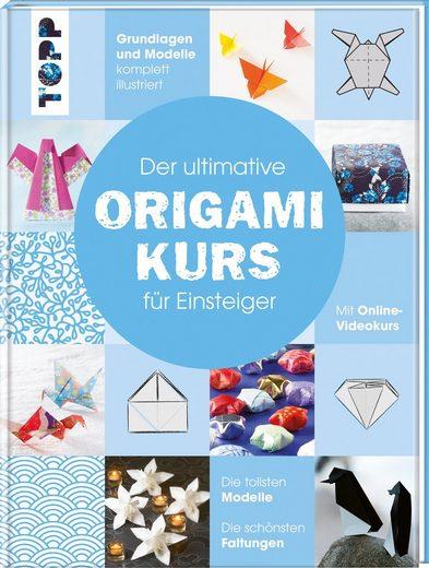 """TOPP Kreativ Buch """"Der ultimative Origamikurs für Einsteiger"""" 128 Seiten"""