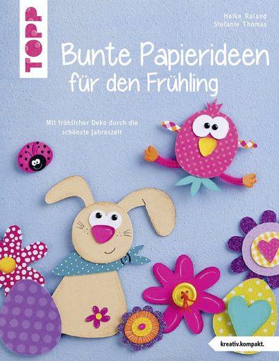 """Topp Buch """"Bunte Papierideen für den Frühling"""" 32 Seiten"""