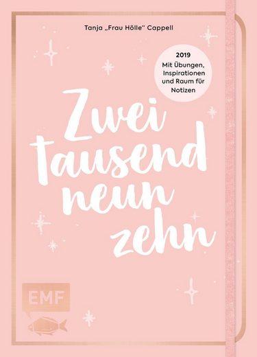 """EMF Buch """"Handlettering - Wochenplaner 2019"""" 160 Seiten"""