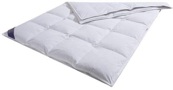 Federbettdecke, »Jonas«, Hanse by RIBECO, 4-Jahreszeiten, Füllung: 10% Daunen, 90% Federn, Bezug: 100% Baumwolle, (1-tlg), Schlafkomfort fürs ganze Jahr!