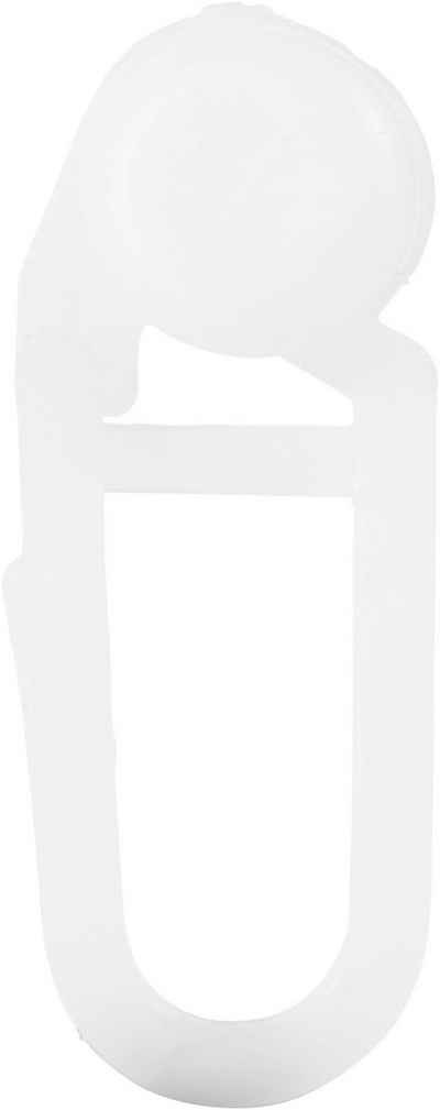 Gardinenröllchen, my home, Gardinen, Gardinenleisten, Dekoschals, Gardinenschienen, Innenlaufsysteme, Seitenschals, Vorhänge, (100-St), Ø 8 mm, für Gardinenleisten