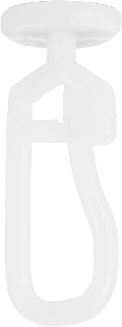 Gardinengleiter »Gleiter«, my home, Gardinen, Gardinenleisten, Gardinenschienen, Dekoschals, Innenlaufsysteme, Seitenschals, Vorhänge, (100-St), Ø 9 mm, für Gardinenleisten