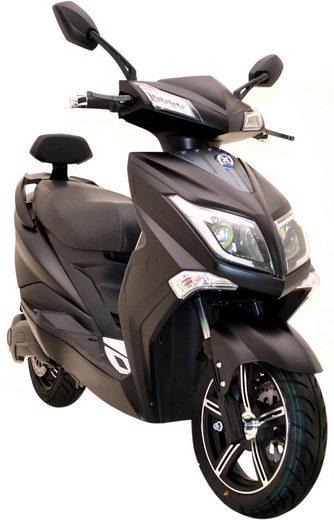 ELEKTROROLLER FUTURA E-Motorroller »Hawk 3000«, 3000 W, 45 km/h