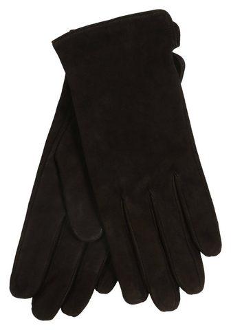 Перчатки кожаные в элегантный стиль