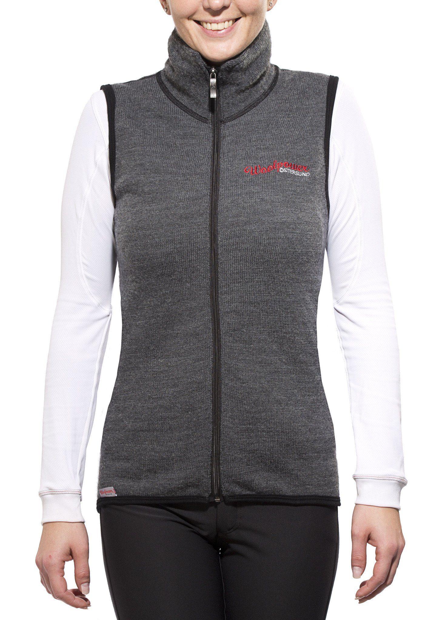 Damen Woolpower Weste »400 Vest« grau | 07317430009002, 07317430020571, 07317430024722