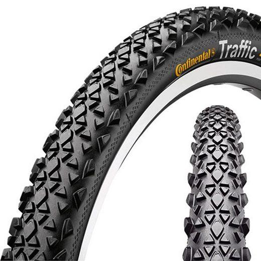CONTINENTAL Fahrradreifen »Traffic Reifen 26 x 1.9 Reflex Draht«
