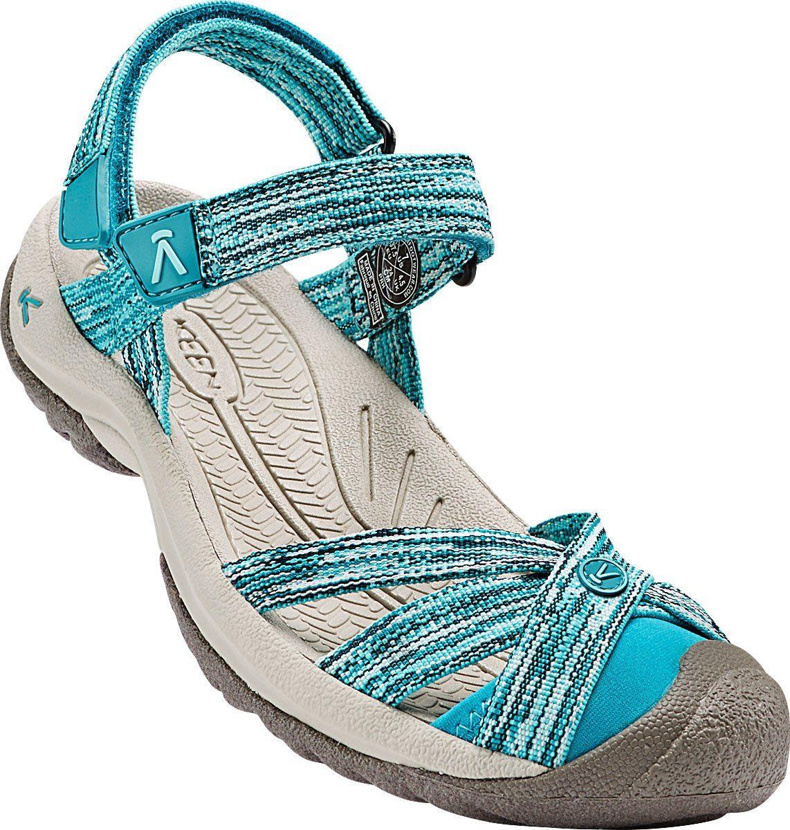 Damen Keen Sandale »Bali Strap Sandals Damen« grau, grün   00887194890507