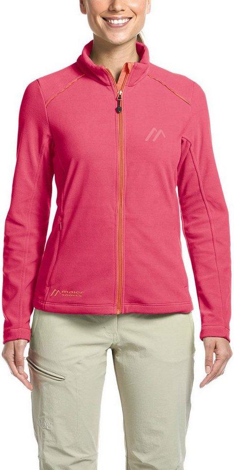 Maier Sports Outdoorjacke »Tofino Fleece Jacket Damen«   Sportbekleidung > Sportjacken > Fleecejacken   Rosa   Maier Sports