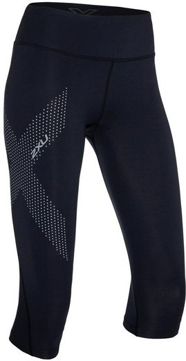 2xU Hose »Mid-Rise Compression 3/4 Tights Damen«