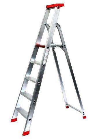 SZ METALL Stehleiter Aluminium 325 m 5-stufig
