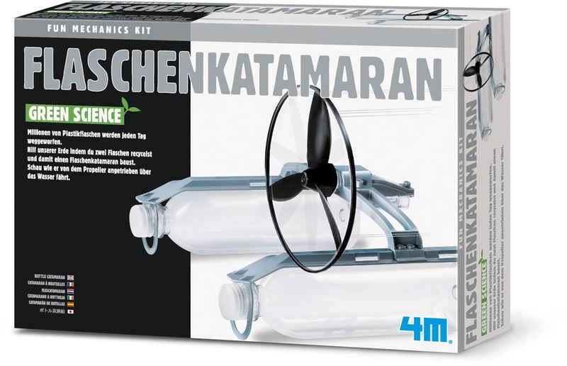 4M Experimentierkasten »Green Science - Flaschenkatamaran«