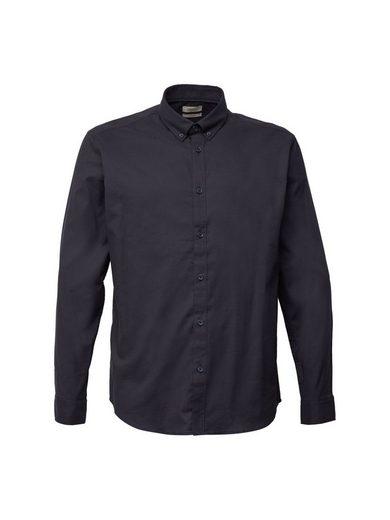 Esprit Langarmhemd »Button-Down-Hemd aus Baumwoll-Stretch«