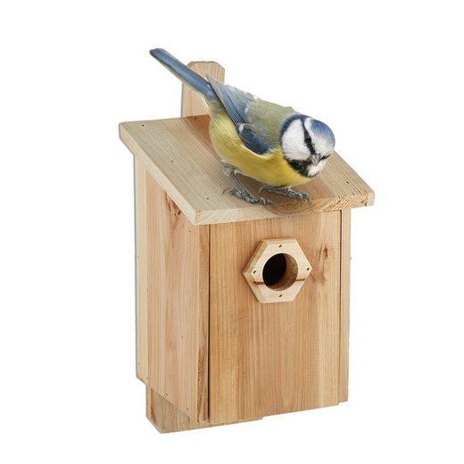 relaxdays Nistkasten »Nistkasten für Vögel«