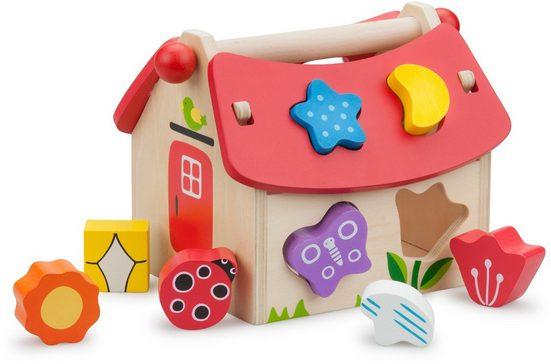 New Classic Toys® Steckspielzeug »Educational - Haus«, FSC®-Holz aus gewissenhaft bewirtschafteten Wäldern