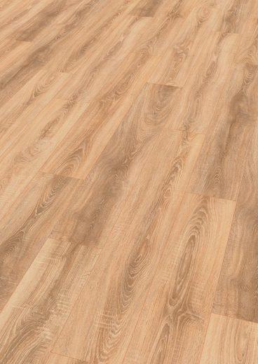 EGGER Packung: Designboden »HOME Design Eiche sägerau braun«, 4-Seitige Fase 1,989 m²/Pkt., Stärke: 5 mm