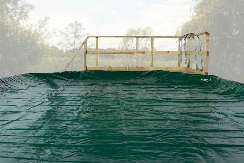 weka Pool-Abdeckplane »Mali 2« (1-St), BxL: 376x476 cm