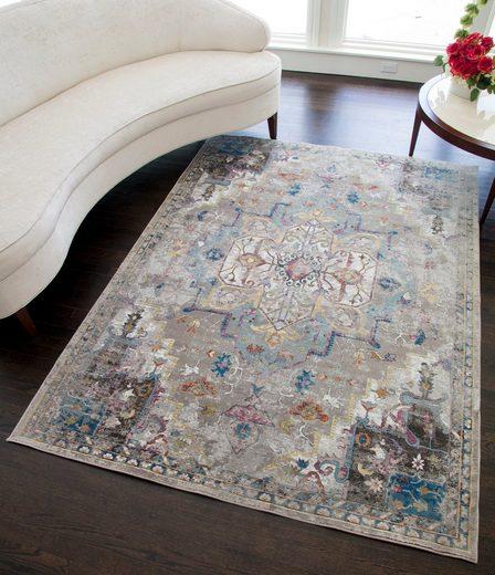 Teppich »Celine Distressed«, CosmoLiving by Cosmopolitan, rechteckig, Höhe 6 mm, Vintage, Wohnzimmer