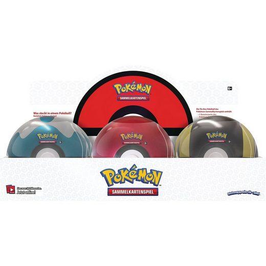 AMIGO Pokémon Pokeball Tin Frühjahr 2020 DE