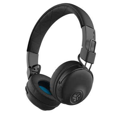JLab Audio »Studio Wireless On-Ear« Bluetooth-Kopfhörer (Siri, Google Assistant, Bluetooth, bis zu 30 Stunden Akkulaufzeit, Quick Charge, dynamische 40mm-Treiber, Sound-Equalizer)