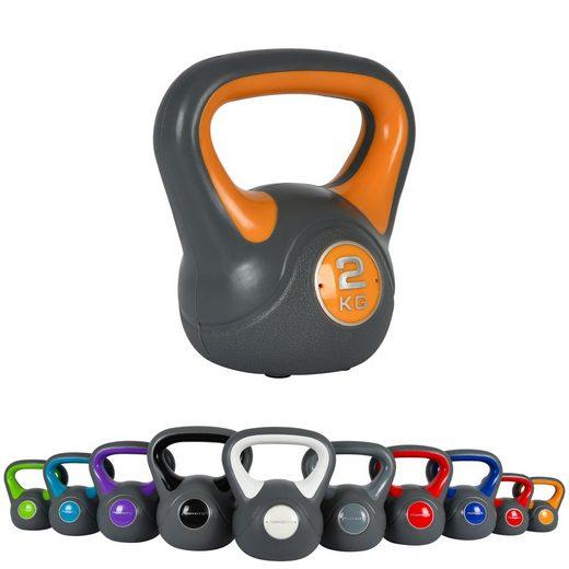 MSports® Kettlebell »Kettlebell Kunststoff«