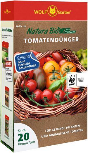 WOLF-Garten Pflanzendünger »Natura-Bio N-TO 1,9«, Granulat, 1,9 kg