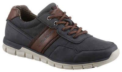 TOM TAILOR Sneaker mit Kontrastbesatz