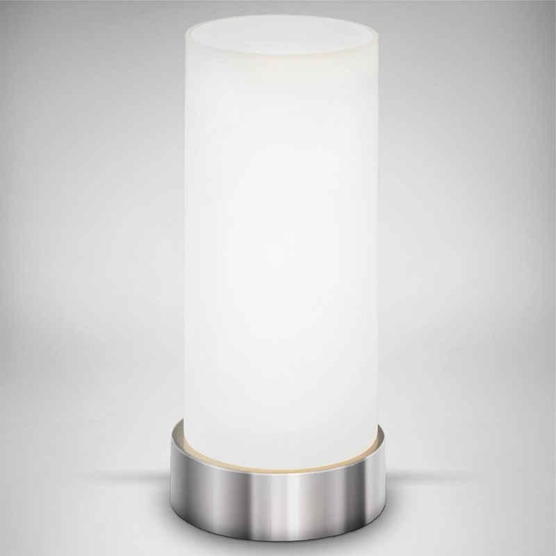 B.K.Licht Tischleuchte »Isa«, LED Tischlampe Berührungssensor dimmbar Touchdimmer Nachttischlampe Schlafzimmer Büro