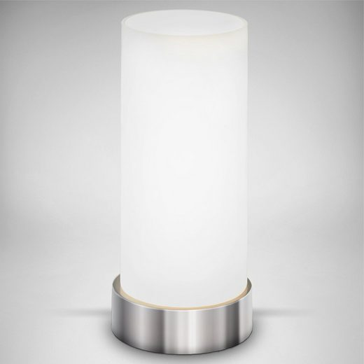 B.K.Licht Tischleuchte »Isa«, für Schlafzimmer, Berührungssensor, Fassung E14, Tischleuchte dimmbar mit Touchfunktion, Stufendimmer