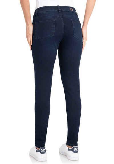 wonderjeans Skinny-fit-Jeans »Skinny-WS76-80« Schmaler Skinny-Fit in hochelastischer Qualität