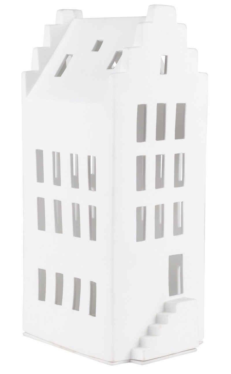 Räder Design Teelichthalter »Windlicht« (Einteilig, 1 Stück), Lichtspielhaus für Teelichter